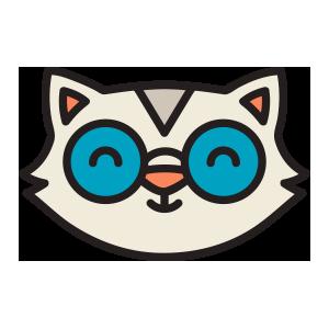 catmoji face sticker 2019 messages sticker-1