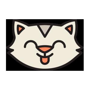 catmoji face sticker 2019 messages sticker-0