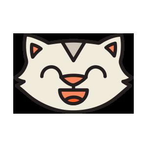 catmoji face sticker 2019 messages sticker-7