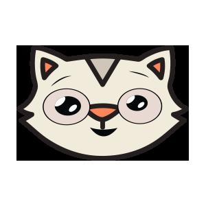 catmoji face sticker 2019 messages sticker-6