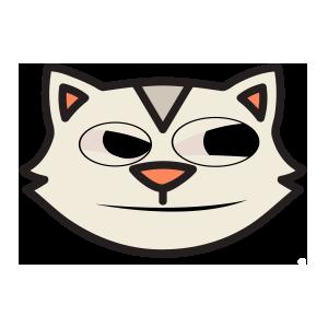 catmoji face sticker 2019 messages sticker-3