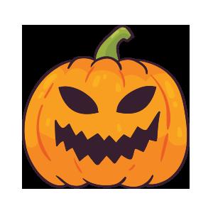 Pumpkin emoji stickers 2019 messages sticker-10