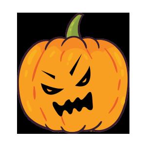 Pumpkin emoji stickers 2019 messages sticker-7