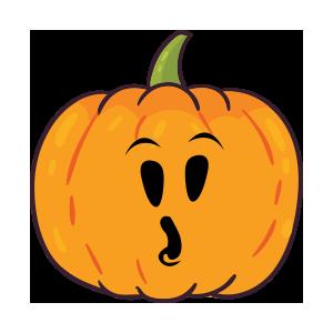 Pumpkin emoji stickers 2019 messages sticker-11