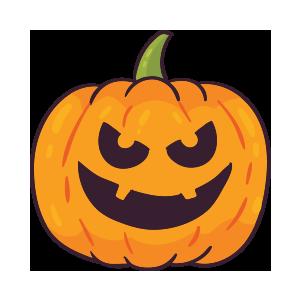 Pumpkin emoji stickers 2019 messages sticker-2