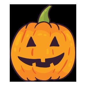 Pumpkin emoji stickers 2019 messages sticker-0