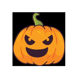 Pumpkin emoji stickers 2019 messages sticker-8