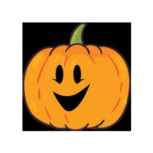 Pumpkin emoji stickers 2019 messages sticker-5