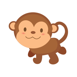 funny monkey sticker 2019 messages sticker-4