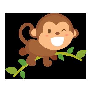 funny monkey sticker 2019 messages sticker-11