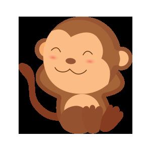 funny monkey sticker 2019 messages sticker-10