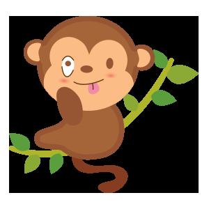 funny monkey sticker 2019 messages sticker-0
