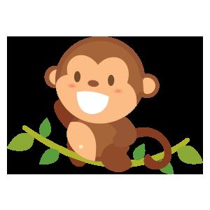 funny monkey sticker 2019 messages sticker-5