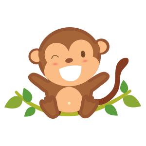 funny monkey sticker 2019 messages sticker-2