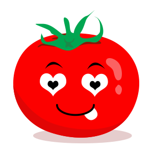 tomato emoji sticker 2019 messages sticker-8
