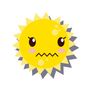 Sun emoji sticker 2019 messages sticker-4
