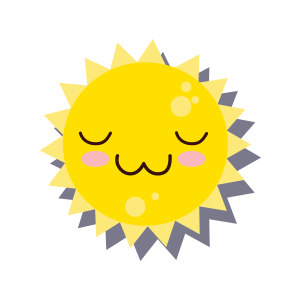 Sun emoji sticker 2019 messages sticker-9