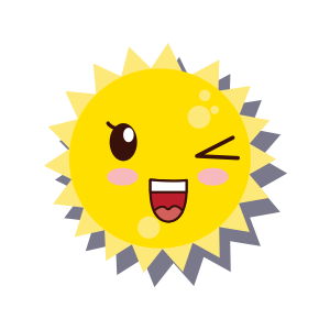 Sun emoji sticker 2019 messages sticker-8