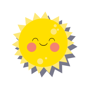 Sun emoji sticker 2019 messages sticker-1