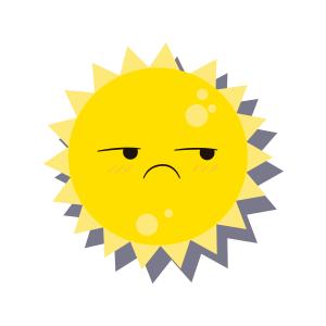 Sun emoji sticker 2019 messages sticker-11