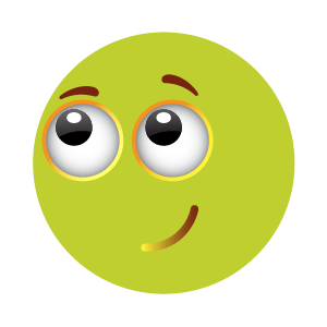 Green emoji sticker 2019 messages sticker-8