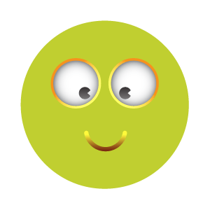 Green emoji sticker 2019 messages sticker-10