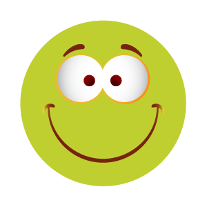 Green emoji sticker 2019 messages sticker-3