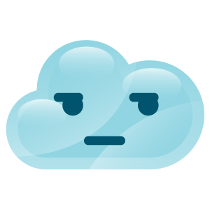 cloudy lovely emoji stickers 2 messages sticker-9