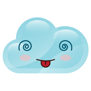 cloudy lovely emoji stickers 2 messages sticker-1