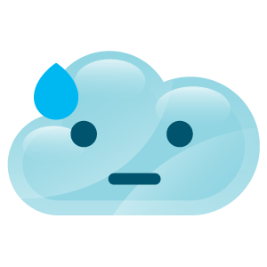 cloudy lovely emoji stickers 2 messages sticker-4