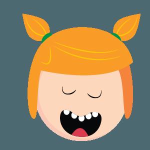 girl face emoji new 2019 messages sticker-11