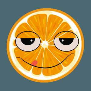 lemon emoji stickers 2019 messages sticker-11