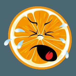 lemon emoji stickers 2019 messages sticker-1