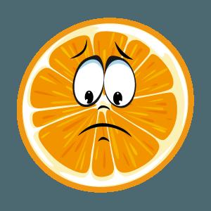 lemon emoji stickers 2019 messages sticker-6