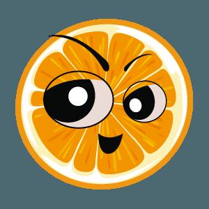 lemon emoji stickers 2019 messages sticker-8