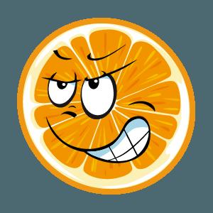 lemon emoji stickers 2019 messages sticker-3