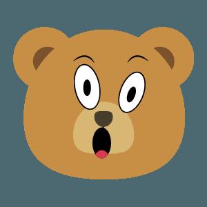 bear face cute emoji 2019 messages sticker-2