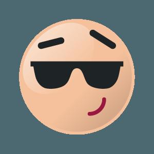 emoji stronger sticker 2019 messages sticker-2