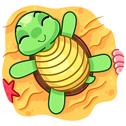 Cute Mozzi Shell for iMessages messages sticker-1