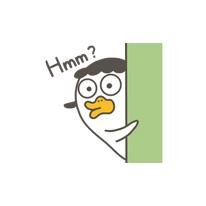 Lucky duckling messages sticker-7