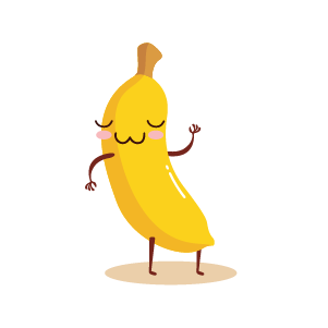 funny banana emoji 2020 messages sticker-5