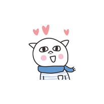 Get cute - cat messages sticker-7