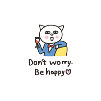 Get cute - cat messages sticker-1
