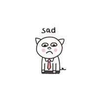 Get cute - cat messages sticker-0