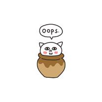 Get cute - cat messages sticker-4