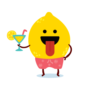 funny fruits emoji stickers 02 messages sticker-2