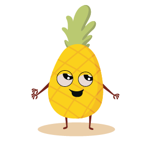 fruite face emoji lovely messages sticker-4