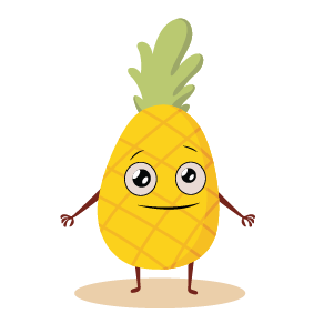 fruite face emoji lovely messages sticker-5