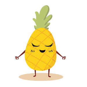 fruite face emoji lovely messages sticker-1