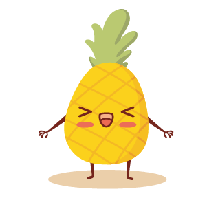 fruite face emoji lovely messages sticker-3